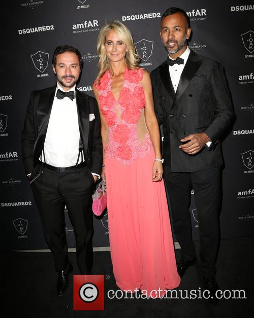 Guest, Lady Victoria Hervey and Ronnie Madra 3