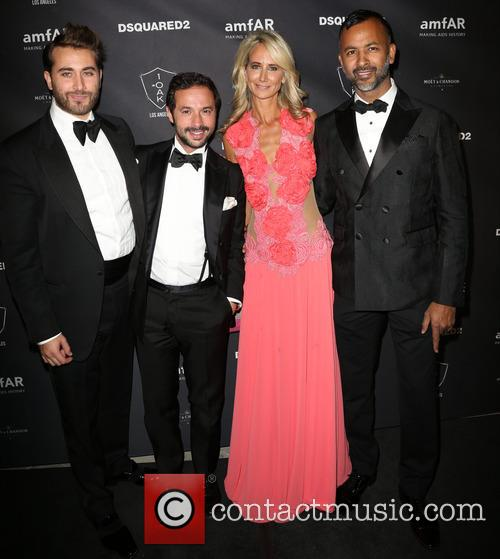 Guests, Lady Victoria Hervey and Ronnie Madra 1