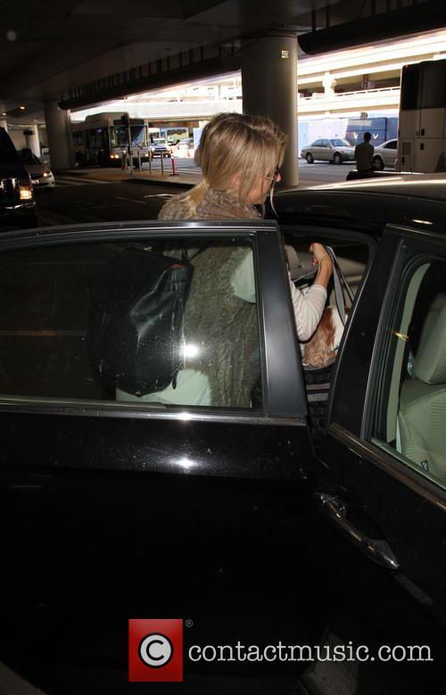 Julianne Hough at LAX