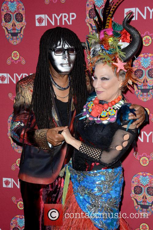 Nile Rodgers and Bette Midler 4