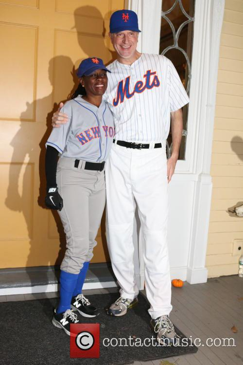 Bill De Blasio and Chirlane Mccray 3