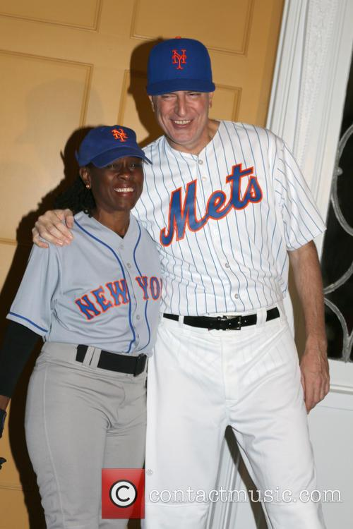 Bill De Blasio and Chirlane Mccray 9