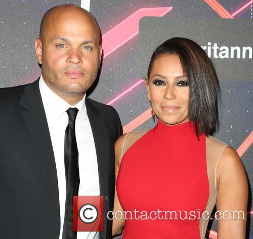 Stephen Belafonte and Mel B 3