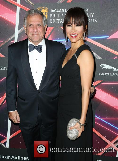 Leslie Moonves and Julie Chen 2