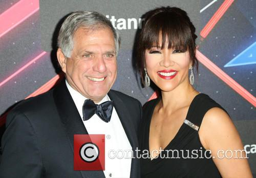 Leslie Moonves and Julie Chen 3