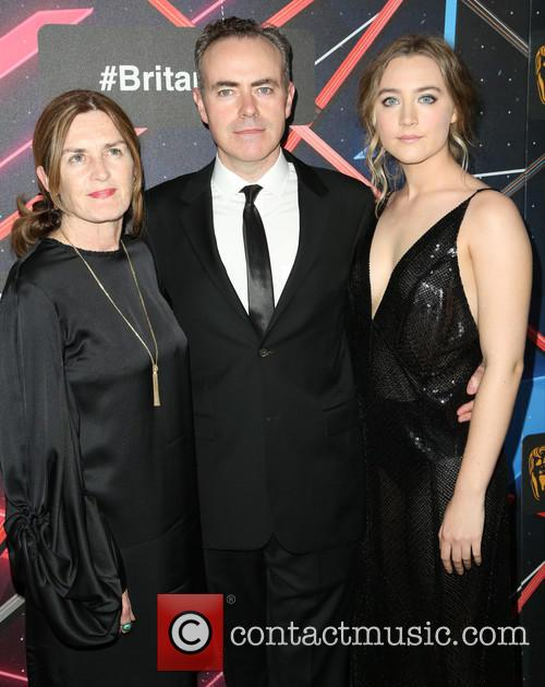 Finola Dwyer, John Crowley and Saoirse Ronan 2