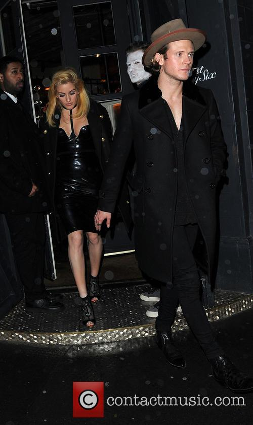 Ellie Goulding and Dougie Poynter 4