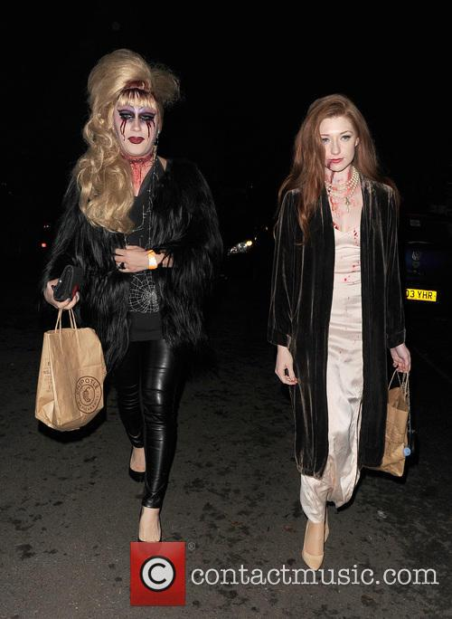Jodie Harsh and Nicola Roberts 6