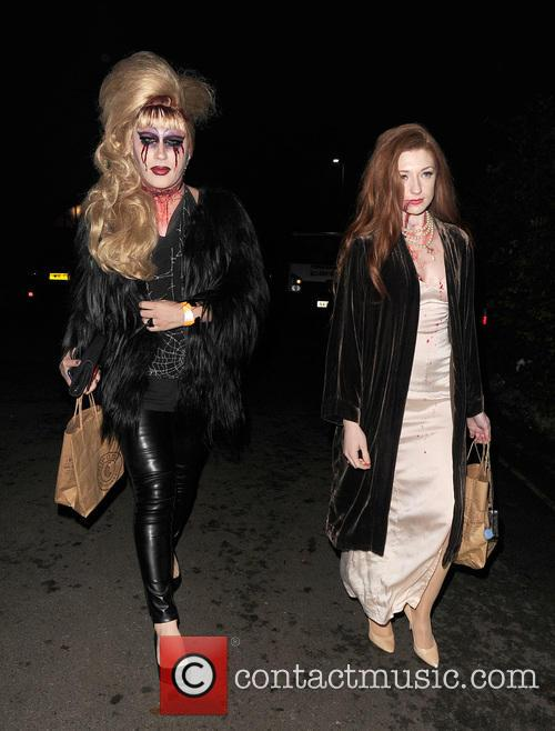 Jodie Harsh and Nicola Roberts 8