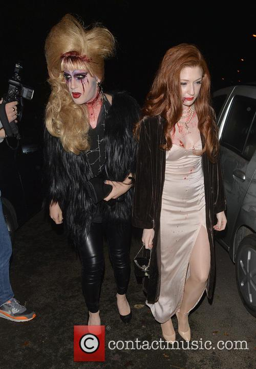Jodie Harsh and Nicola Roberts 9