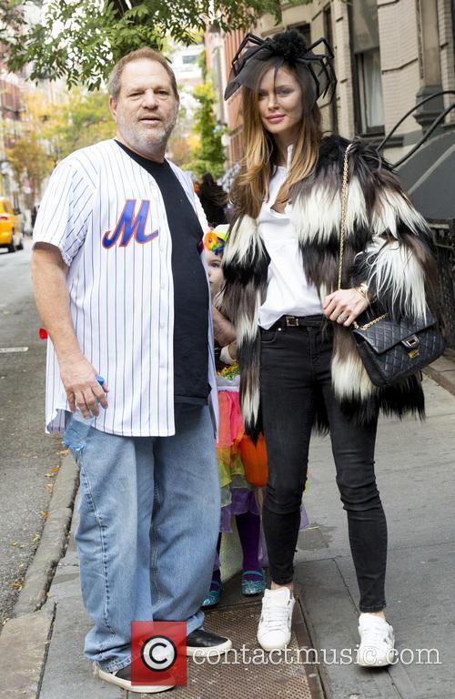 Harvey Weinstein and Georgina Chapman 1