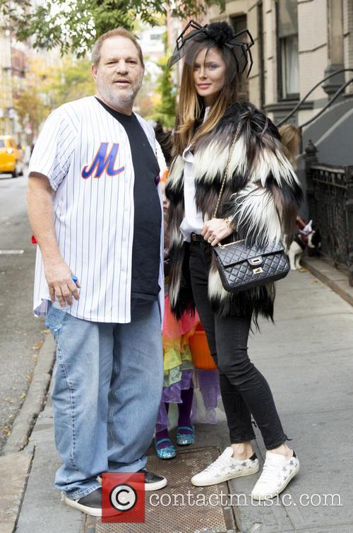 Harvey Weinstein and Georgina Chapman 2