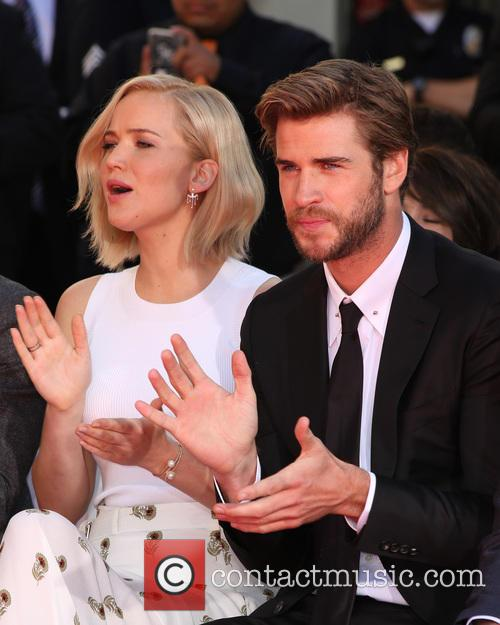 Jennifer Lawrence, Liam Hemsworth and Guests 10