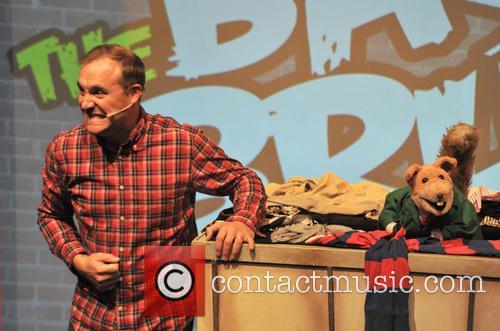 Basil Brush, Mr Stephen and Chris Pizzey 1