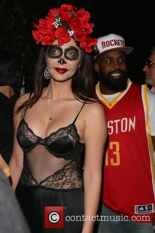 Brittny Gastineau CasaMigos Tequila Halloween Party