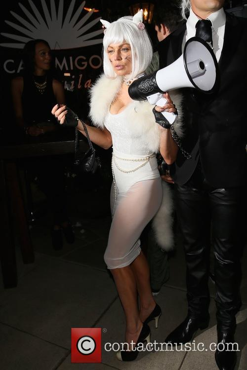 Fergie and Josh Duhamel CasaMigos Tequila Halloween Party
