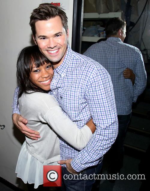 Nikki M. James and Andrew Rannells 1