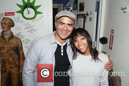 Christopher Jackson and Nikki M. James 1