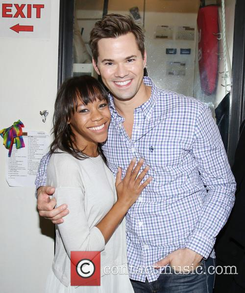 Nikki M. James and Andrew Rannells 2
