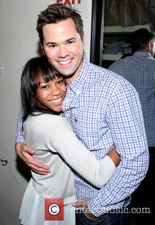 Nikki M. James and Andrew Rannells 3