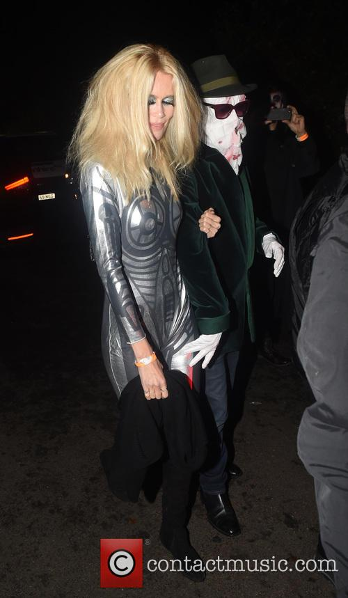 Claudia Schiffer and Mathew Vaughn 5