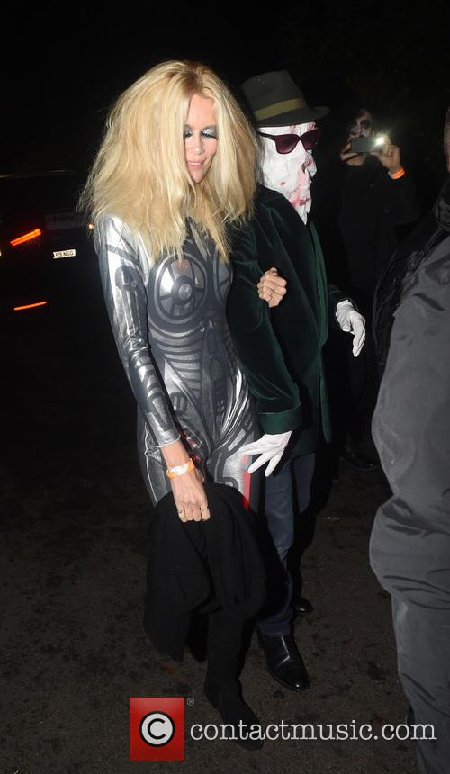 Claudia Schiffer and Mathew Vaughn 6