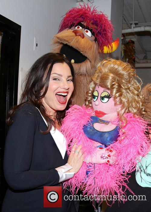 Fran Drescher, Trekkie Monster and Lucy The Slut 1