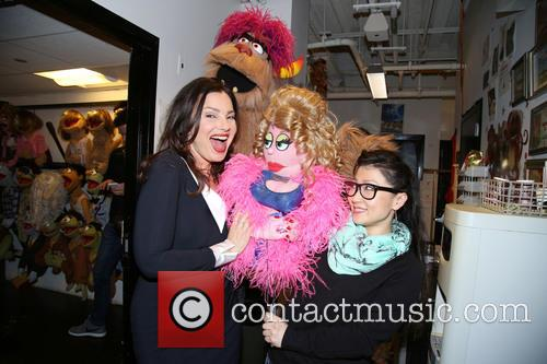Fran Drescher, Trekkie Monster, Lucy The Slut and Grace Choi 2