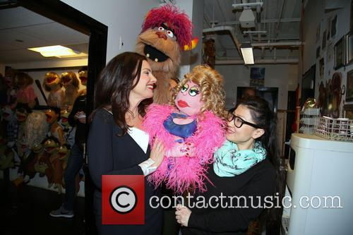 Fran Drescher, Trekkie Monster, Lucy The Slut and Grace Choi 3