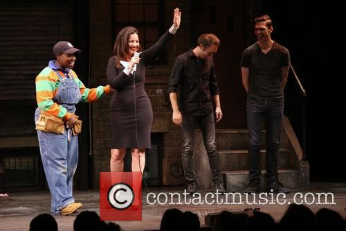 Danielle K. Thomas, Fran Drescher, Jason Jacoby and Ben Durocher 1