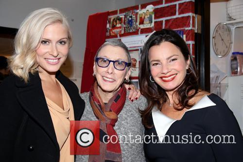 Stephanie Gibson, Robyn Goodman and Fran Drescher 1