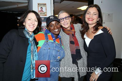 Anna Louizos, Danielle K. Thomas, Robyn Goodman and Fran Drescher