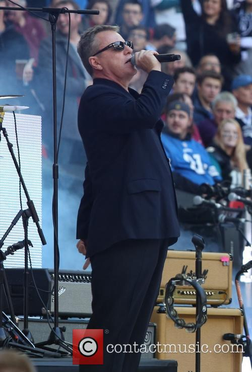 Madness perform live during the 2015 NFL International...