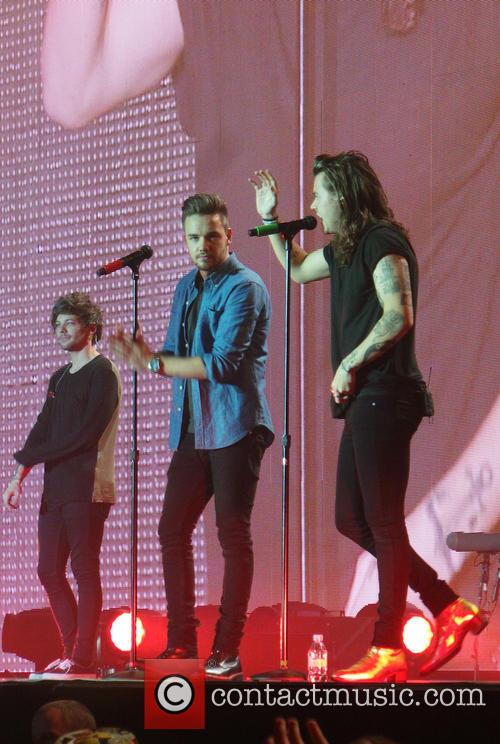 Liam Payne, Louis Tomlinson and Harry Styles 1