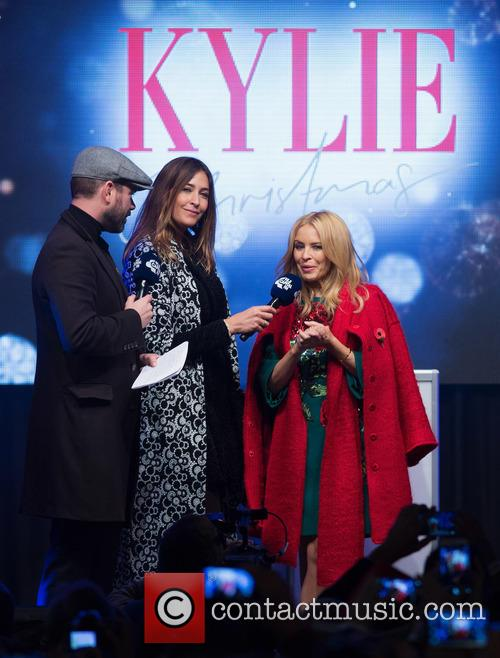 Dave Berry, Lisa Snowdon and Kylie Minogue 1