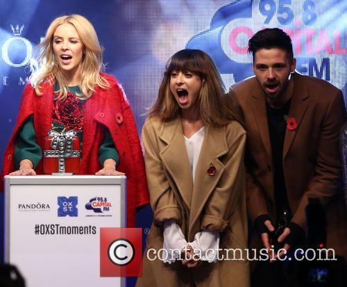 Kylie Minogue, Foxes and Ben Haenow 7