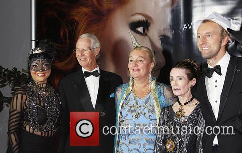 Luisa Diaz, H.h. Prince Waldemar Schaumburg-lippe, H.h. Dr. Princess Antonia Schaumburg-lippe and H.h. Prince Mario-max Schaumburg-lippe 1