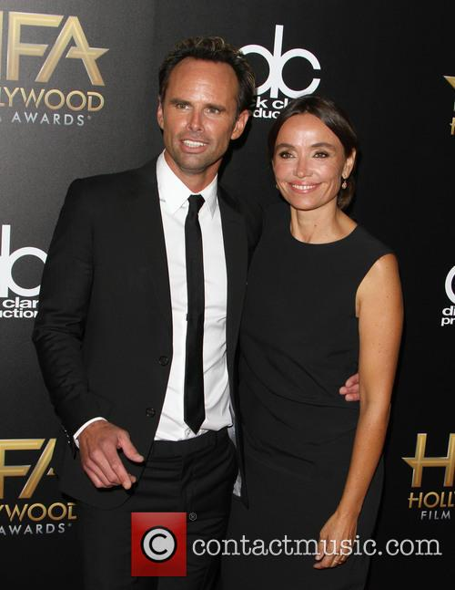 Walton Goggins and Nadia Conners 2