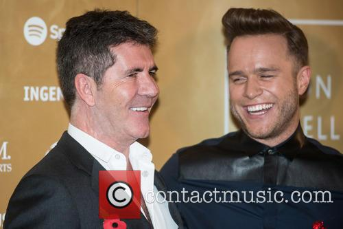 Simon Cowell and Olly Murs 2