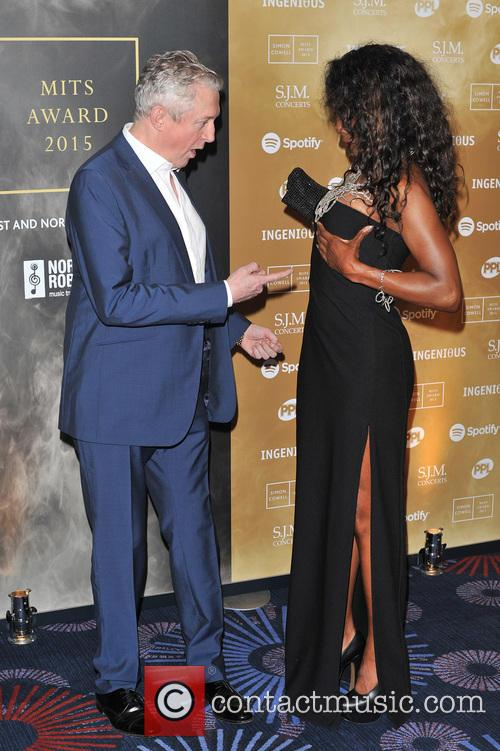 Louis Walsh and Sinitta 2