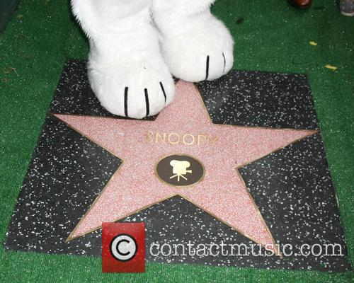 Snoopy's Paws With Star 1