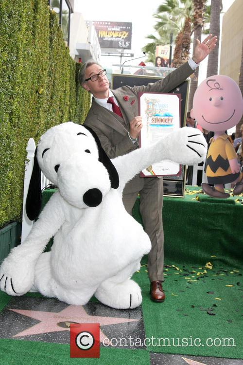 Snoopy and Paul Feig 11
