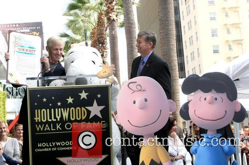 Craig Schultz, Leron Gubler and Snoopy 1