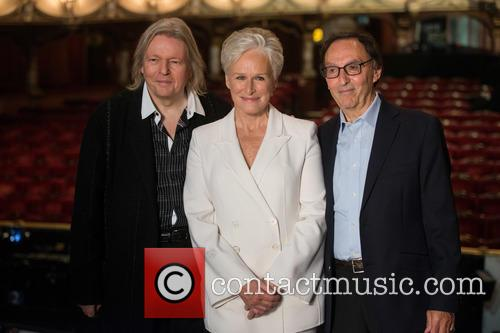 Glenn Close, Don Black and Christopher Hampton 1