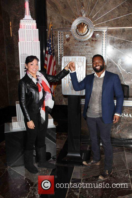 Sara Ramirez and Baratunde Thurston 1
