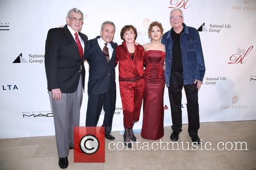 Steve Elmore, Joseph R. Sicari, Sally Stark, Bernadette Peters and David Christmas 1