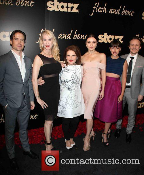 Kevin Brown, Moira Walley-beckett, Tovah Feldshuh, Irina Dvorovenko, Raychel Weiner and Damon Herriman 1