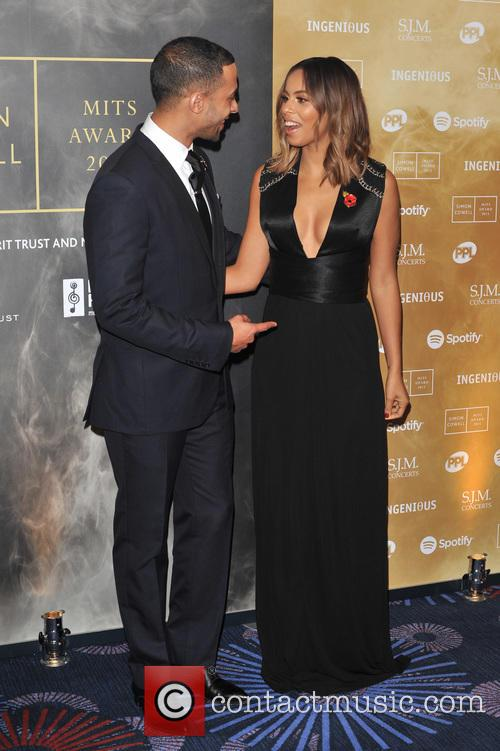 Marvin Humes and Rochelle Humes 1