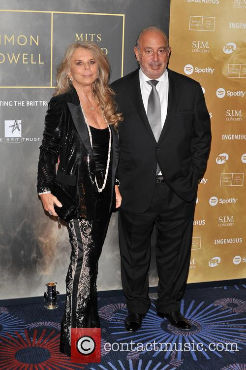 Sir Phillip Green and Lady Tina Green 1