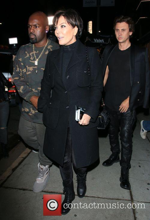 Cory Gamble, Kris Jenner and Jonathan Cheban 5